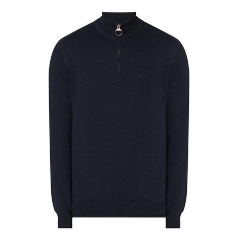Holden Half Zip Lambswool Sweater, ${color}