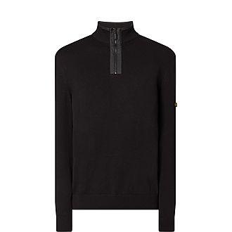 Trap Half-Zip Sweater