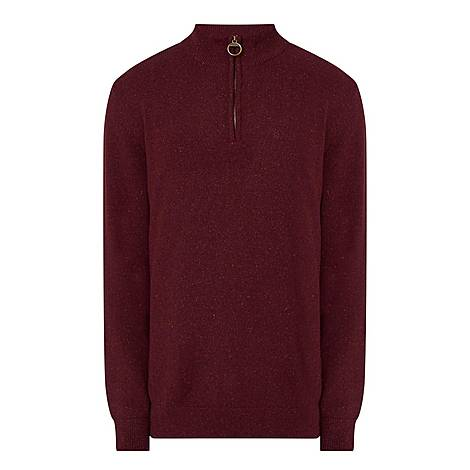 Tisbury Half-Zip Rugby Sweater, ${color}