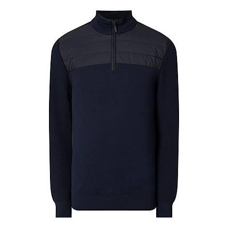 Lundy Half-Zip Sweatshirt, ${color}