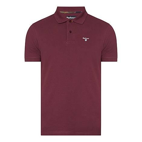 Tartan Piqué Polo Shirt, ${color}