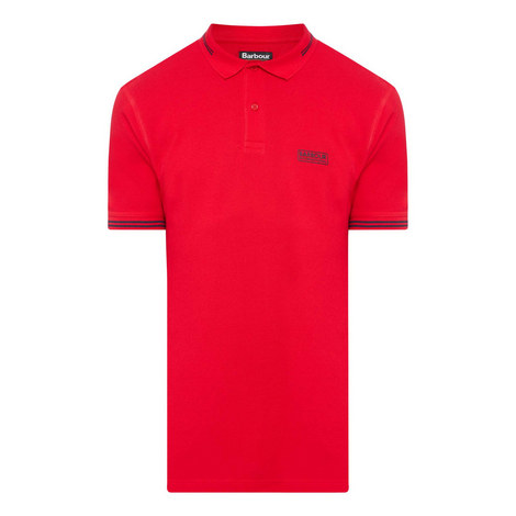 Essential Tipped Polo Shirt, ${color}