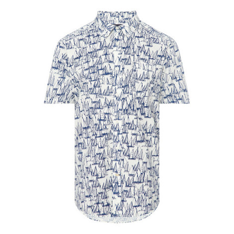 Boat Print Shirt, ${color}
