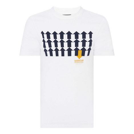 Directional Arrow Graphic T-Shirt, ${color}