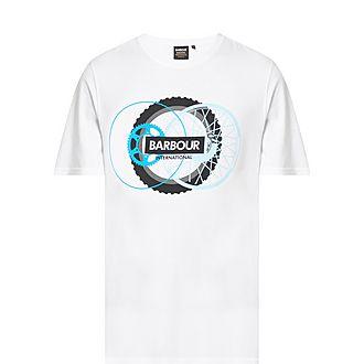 Wheel Print T-Shirt