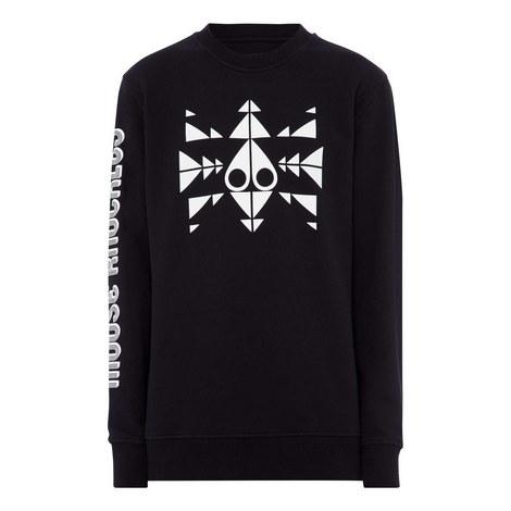 Trippy Cotton Sweatshirt, ${color}