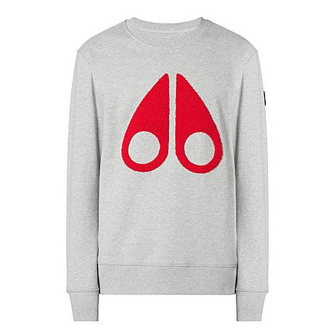 Fleece Logo Sweatshirt, ${color}