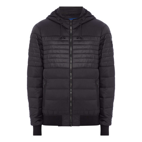 Quilted Hood Jacket, ${color}