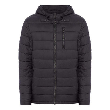 Chest Pocket Quilted Jacket, ${color}