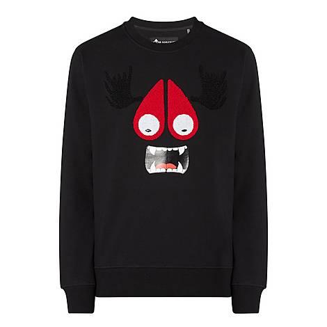 Fleece Face Sweatshirt, ${color}