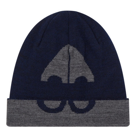Logo Knitted Beanie Hat, ${color}
