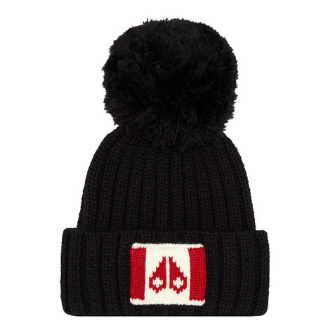 Logo Knit Bobble Hat, ${color}