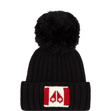 Logo Knit Bobble Hat