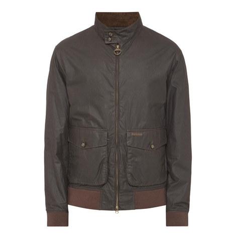 Haggert Short Wax Jacket, ${color}