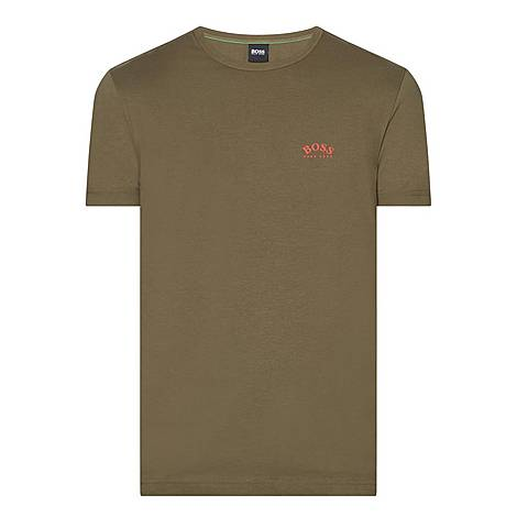 Curved Logo T-Shirt, ${color}
