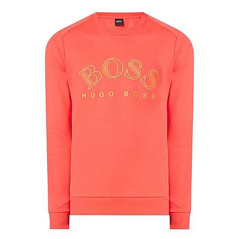 Salbo Curve Logo Sweatshirt, ${color}