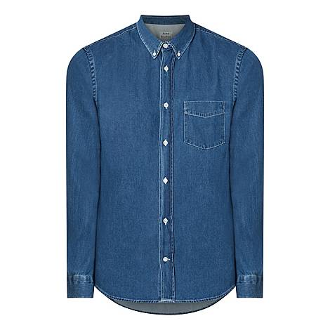 Isherwood Denim Shirt, ${color}