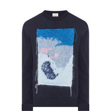 Patch Applique Sweater