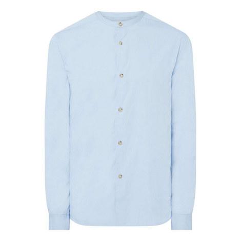 Collarless Regular Fit Shirt, ${color}