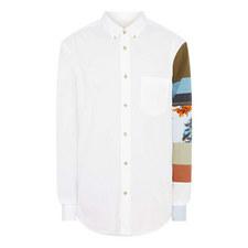 Sarkis Sleeve Print Shirt