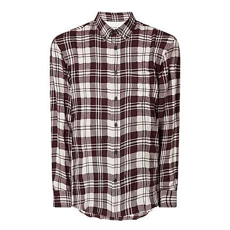 Sarkis Checked Shirt, ${color}
