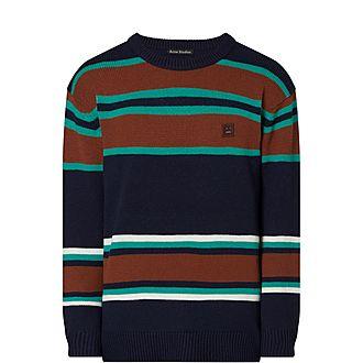 Nimah Face Striped Sweater