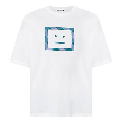 Erian Check Logo T-Shirt, ${color}