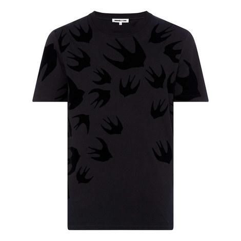 Swallow Print T-Shirt, ${color}