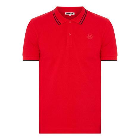 Swallow Badge Polo Shirt, ${color}