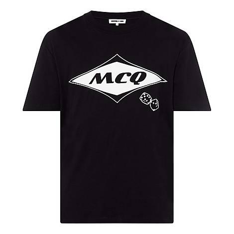 Logo Dice Print T-Shirt, ${color}