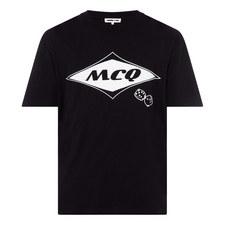 Logo Dice Print T-Shirt