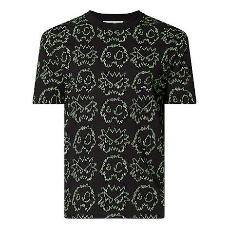 Space Invader Graphic T-Shirt, ${color}