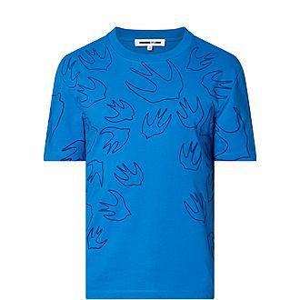 Signature Swallow Print T-Shirt