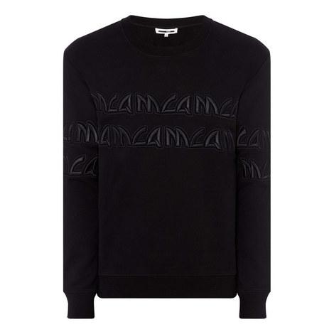 Repeat Metal Logo Sweatshirt, ${color}