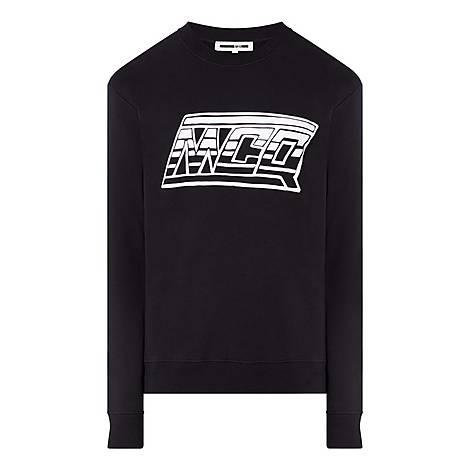 Logo Crew Neck Sweatshirt, ${color}