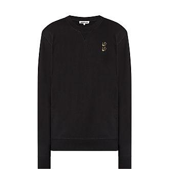 Swallow Applique Sweatshirt