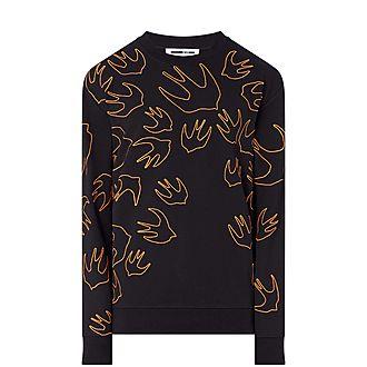 Swallow Outline Sweatshirt