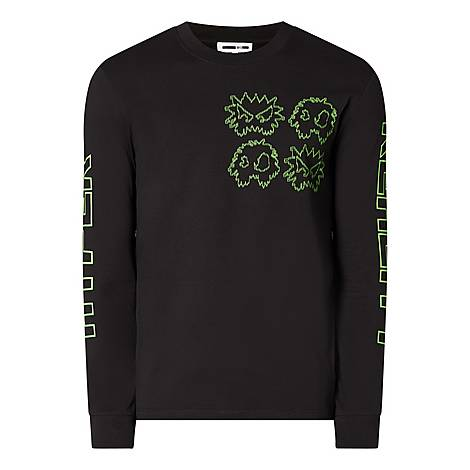 Neon Monster Sweatshirt, ${color}