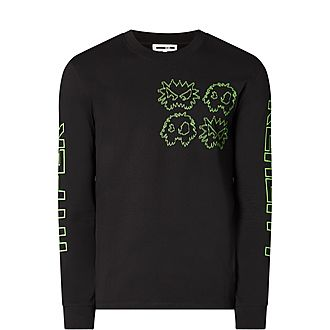 Neon Monster Sweatshirt
