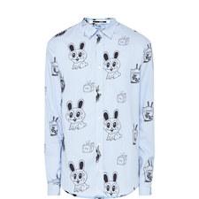 Bunny Print Shirt