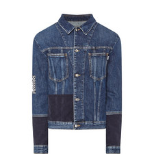 Patch Badge Denim Jacket