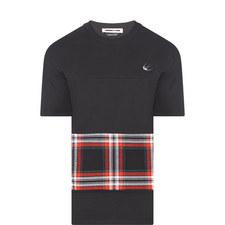 Tartan Print T-Shirt