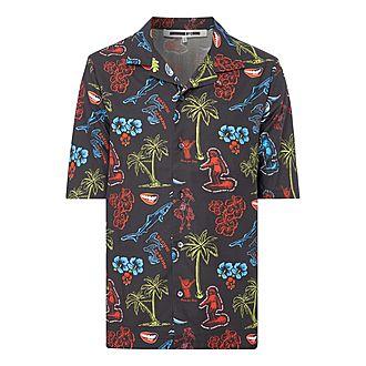 Hula Dance Bowling Shirt