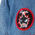 Logo Badge Denim Jacket, ${color}