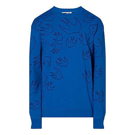 Swallow Outline Sweater, ${color}