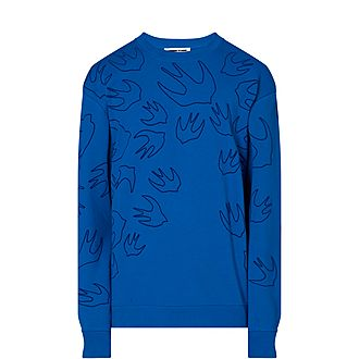 Swallow Outline Sweater