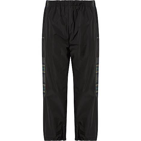 Check Patch Nylon Sweatpants, ${color}