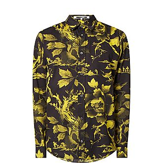 Botanical Print Shirt