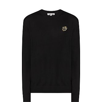 Swallow Badge Sweater