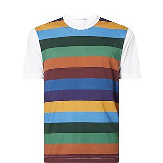 Stripe Hem T-Shirt